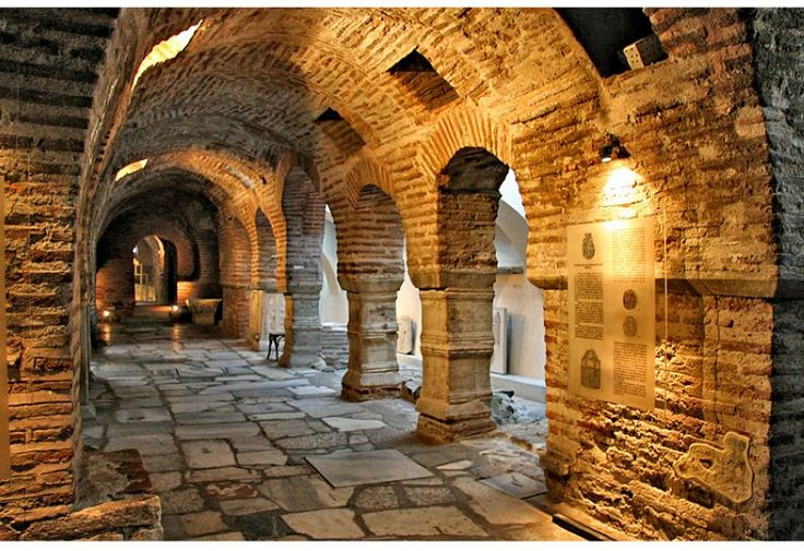 Catacombs of St Dimitrios church, Thessaloniki - Greece