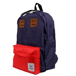 Our Backpack Bag RED NAVY, for your daily or traveling needs...  Dimension: 50 cm x 30 cm x 12 cm Material: High Quality Cordura
