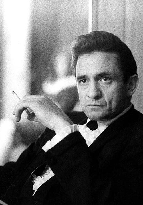 Johnny Cash  2/26/1932  Died  9/12/2003. The man in black.
