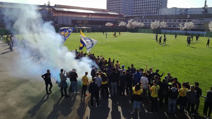 Chaude ambiance à l'entraînement du FCSM avant le match à Strasbourg