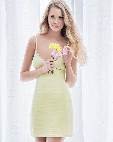 Montecito Chemise Dress - IntiMint
