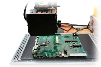 Acer notebook mainboard repair photo