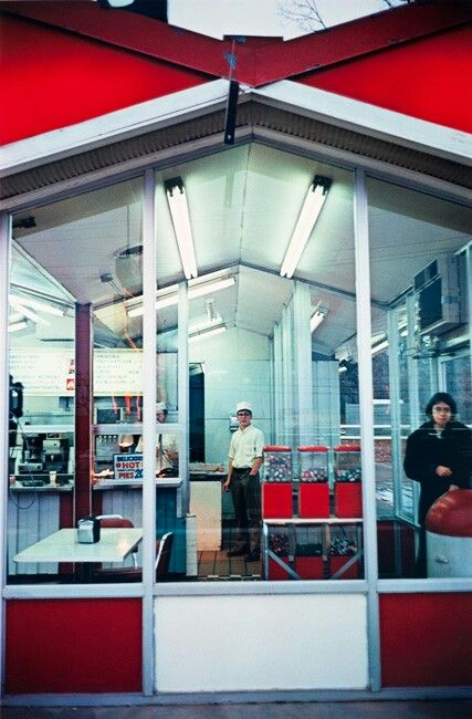 Cafe Exterior, William Eggleston