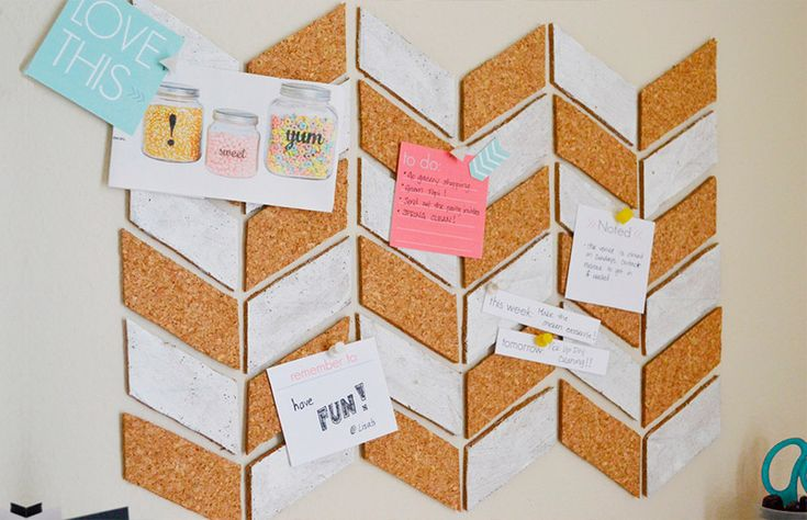 Como criar um quadro de avisos para se organizar melhor. http://www.dcoracao.com/2015/10/como-criar-um-quadro-de-avisos-para-se.html