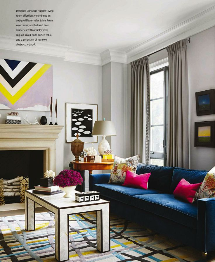 Christine Hughesu0027 Chic Chicago Home (La Dolce Vita). Find This Pin And More  On Living Rooms ...