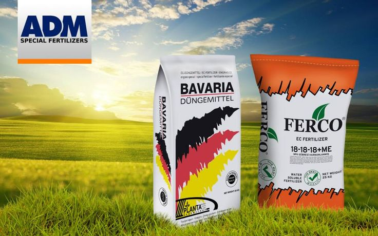 Package mockup designs with PSD for ADM Special Fertilizers.