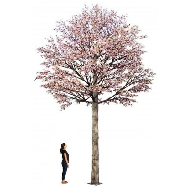 Huge 26ft Tall Cherry Blossom Tree Permanent Install Custom Colors Available Cherry Blossom Tree Blossom Trees Trees To Plant
