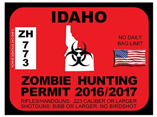 1000 images about zombie hunting permits on pinterest for Idaho fishing license online