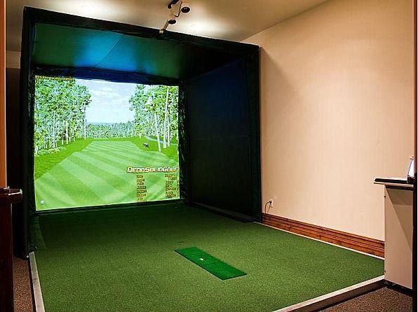 54 best Indoor golf images on Pinterest | Golf room, Golf ...