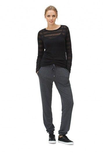 Cuffed Jersey Pants for Tall Women | Long Tall Sally USA
