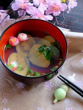 桃の節句に、蛤のお吸い物。(潮汁) by ち~sun [クックパッド] 簡単 ...