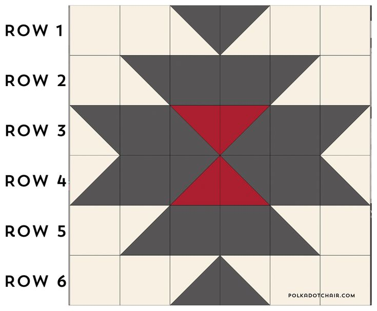 A free quilt pattern for a squash blossom quilt. A southwest style simple quilt pattern and free tut 10 in squ hst #southwest #squashblossom