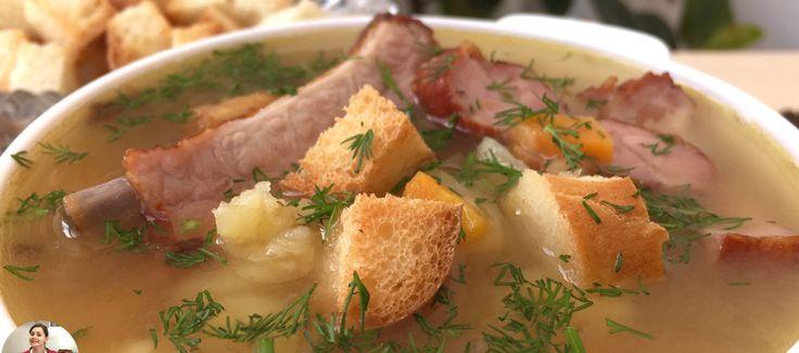Гороховый суп получился на славу