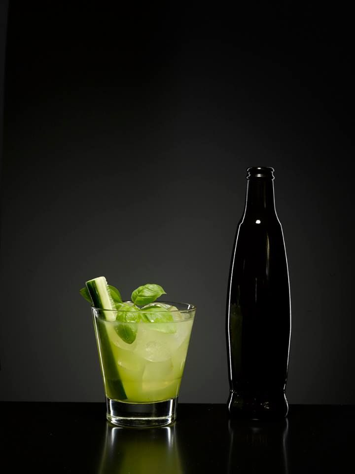 Mattoni Cocktail  #drink #cocktail #fruit #fresh #basil #cucumber #mattoniwater #design