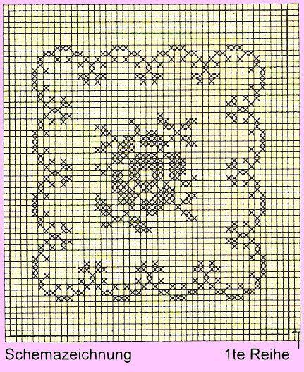 strikket rosemønster - Google-søk