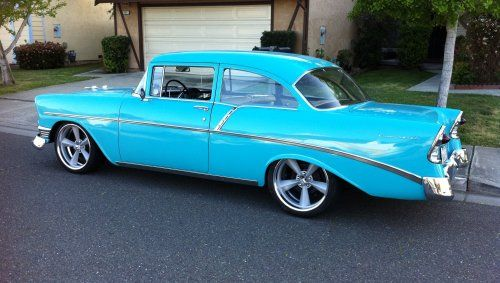 56 Chevy 2door Post  Dream Cars  Pinterest  Chevy Cars and