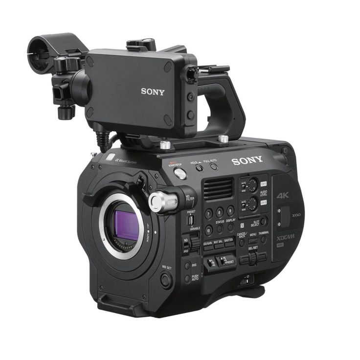 Sony FS7 II Official: FS5 Electronic Vari ND, Locking E-mount, and Rec.2020