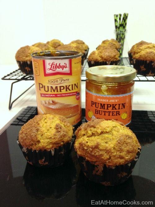Pumpkin Butter Muffins - A perfect muffin for Fall, made with pumpkin and pumpkin butter.