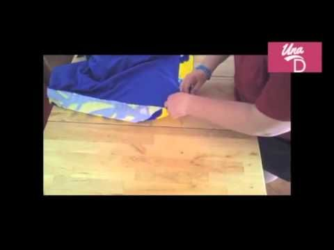 Come fare una borsa con tracolla e telo mare - YouTube