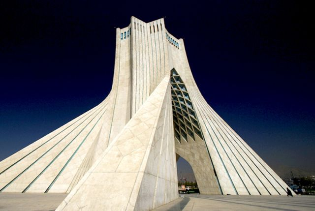 Azadi Tower in Tehran, built in 1971 and that can be said to be one of the first parametric building (in the contemporary computational mean...