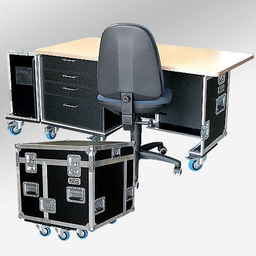 Office Case - mobiles Büro Flightcase