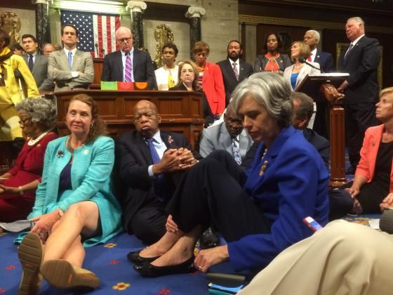Meet the Woman Behind the Democratic Sit-In