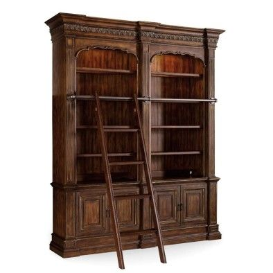 """A bookshelf that is the definition of """"Home Library Goals.""""   20 Things Every """"Beauty And The Beast"""" Fan Should Own"""