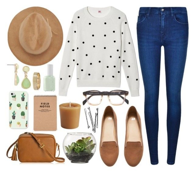 """Outside Days"" by shehanisamara ❤ liked on Polyvore featuring Calvin Klein, Lacoste, H&M, Threshold, GiGi New York, Hat Attack, Samsung, Pier 1 Imports, Liz Claiborne and Essie"