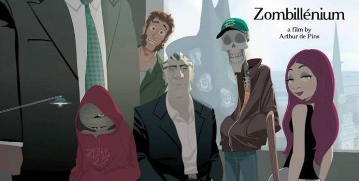 Zombie Vampires et Monstres sont de sortie pour Zombillénium http://xfru.it/L8ziQt
