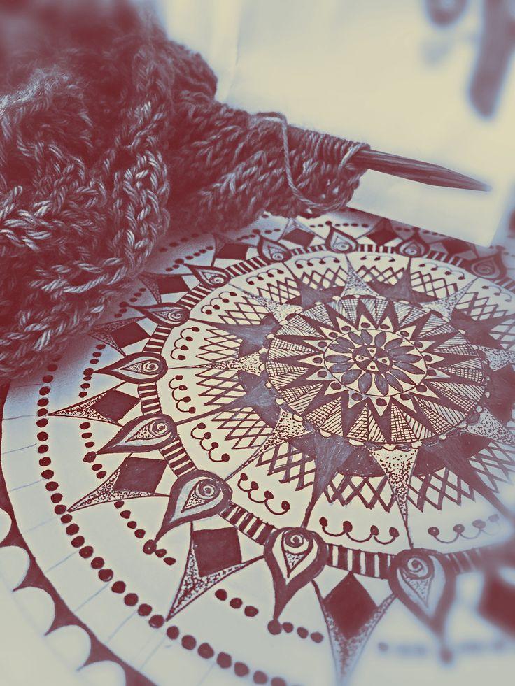 Mandala & Knit