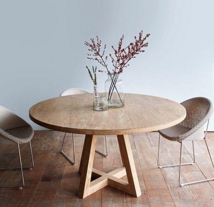 La Plus Originale Table De Cuisine Ronde Voyez Les Modeles Les Plus Styles 1000 In 2020 Dining Table Dining Table Decor Round Table Decor