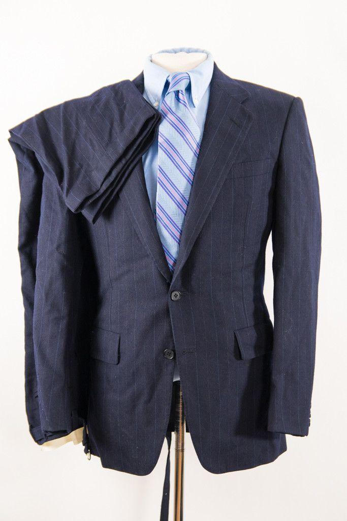 The 25  best Blue pinstripe suit ideas on Pinterest   Navy ...