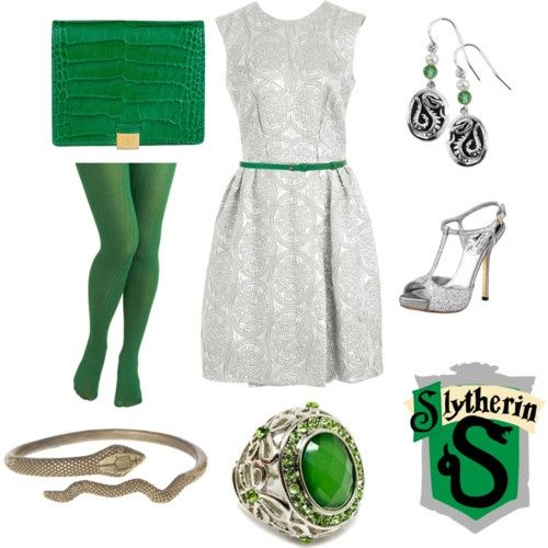 I love the silver dress. I love the Pottervore blog on tumblr. Adorable clothes for fashionable harry potter fans.