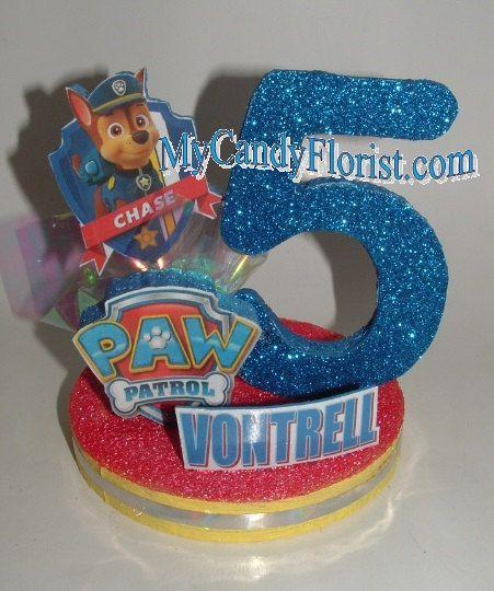 Personalized Paw Patrol Cake Topper