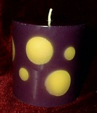 How to Make a Drilled Candle
