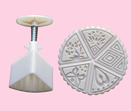 Giftshop12 Triangular Mooncake Moon Cake Mold Cookie Cutter Mold 50g >>> You can find more details by visiting the affiliate link Amazon.com.