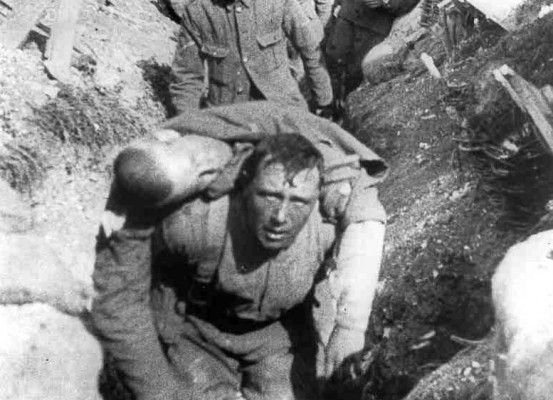 One of the bloodiest battles of World War I.  The Battle of Verdun - 976,000 total casualties.