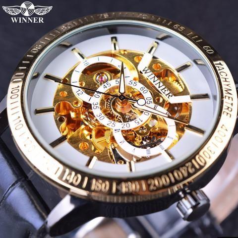 Winner Business Series Skeleton Watch