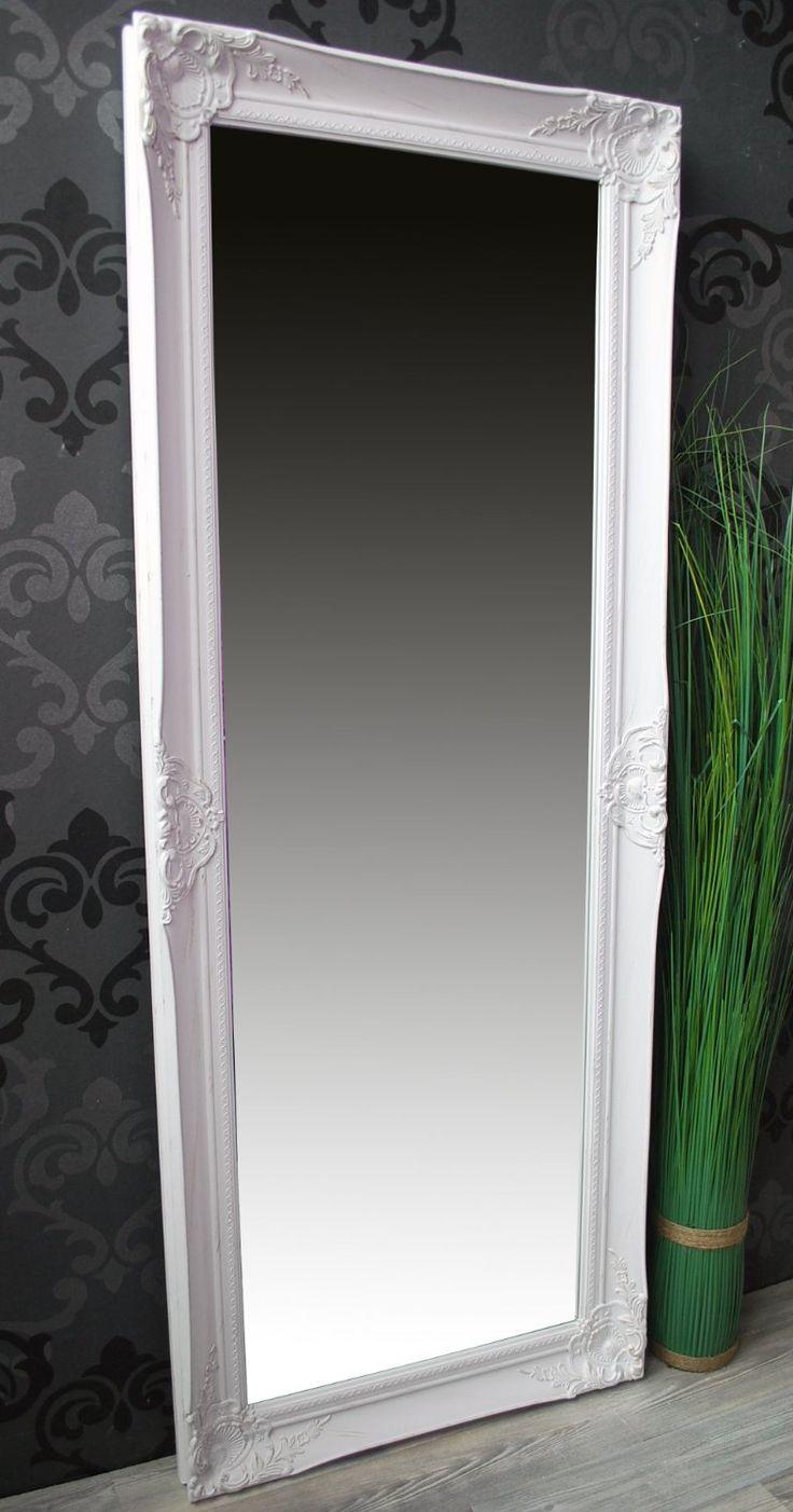spiegel wandspiegel helena wei barock 132 x 52 cm amazon. Black Bedroom Furniture Sets. Home Design Ideas