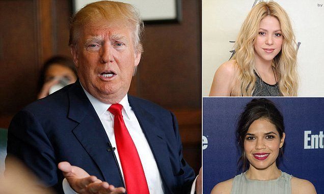 Shakira hits out at Donald Trump's 'hateful and racist' speech