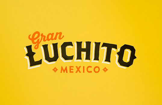 Gran Luchito salsa package design
