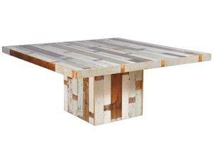 Vierkante tafel sloophout