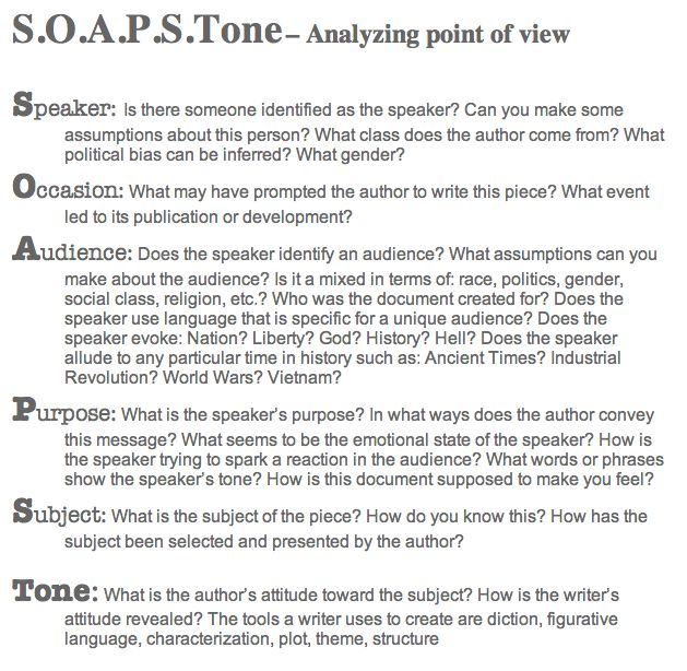 Soapstone Essay Soapstone Essay How To Use The Soapstone Worksheet
