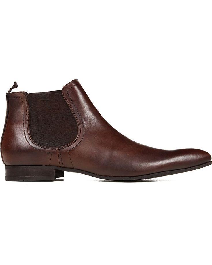 KG by Kurt Geiger | Brown Brando Chelsea Boots for Men | Lyst