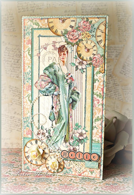 """""""A Ladies Diary"""" collection from Graphic 45"""