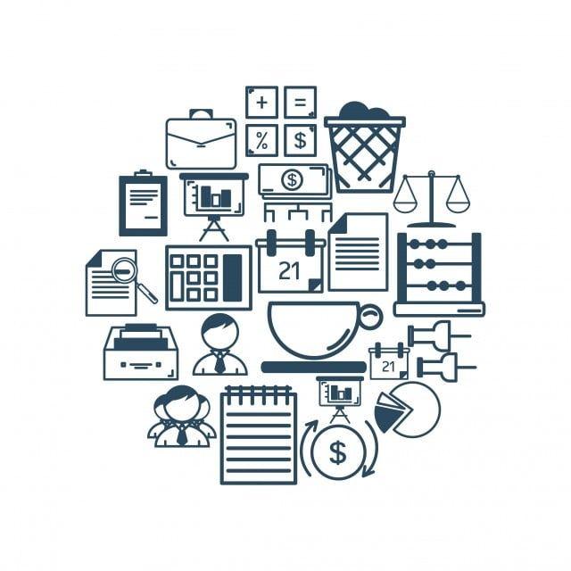 L Icone De La Comptabilite Avec Apercu La Comptabilite Icone Apercu Png Et Vecteur Pour Telechargement Gratuit Accounting Icon Vector Art