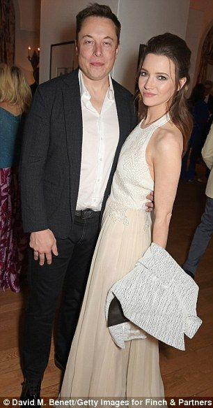 GIRL ABOUT TOWN: PayPal tycoon Elon Musk falls for Talulah a 3RD time #dailymail