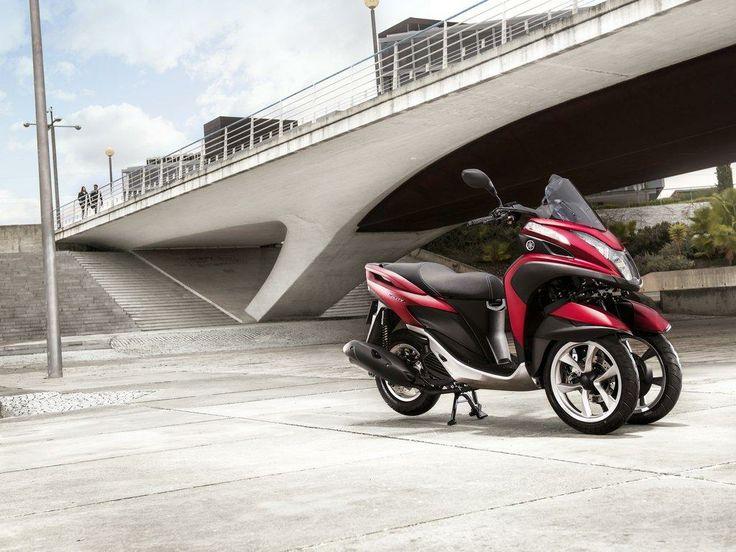 Yamaha Tricity 125 2014, el nuevo scooter de tres ruedas japonés