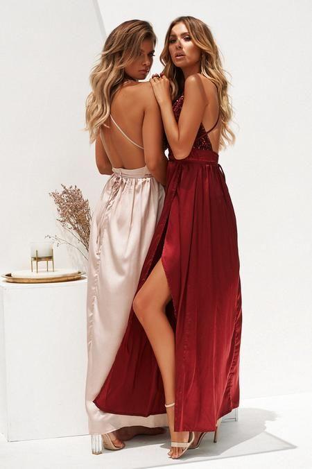Candice Maxi Dress (Blush)  a0c711d3a