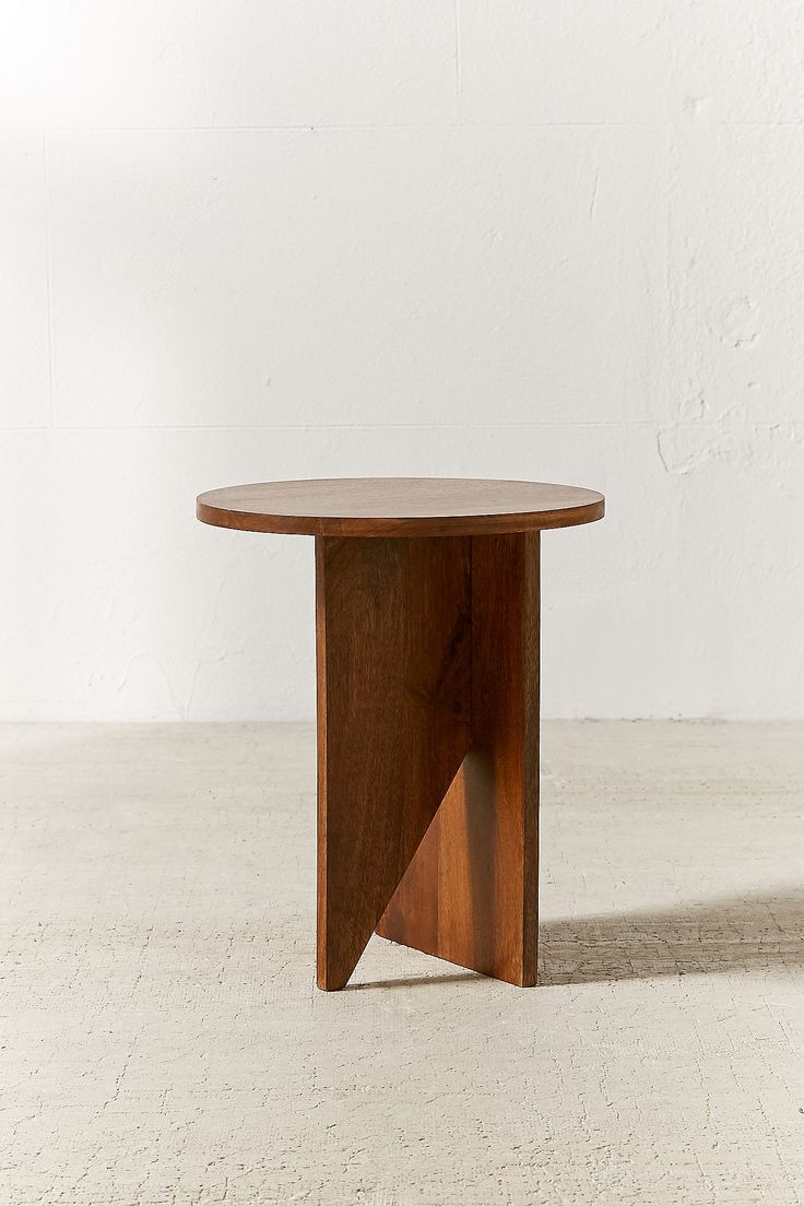 Slide View: 2: Hyland Wooden Side Table